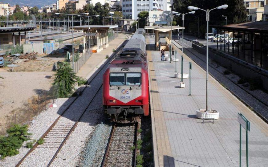 Μειώθηκαν οι σιδηροδρομικές μεταφορές το 2017